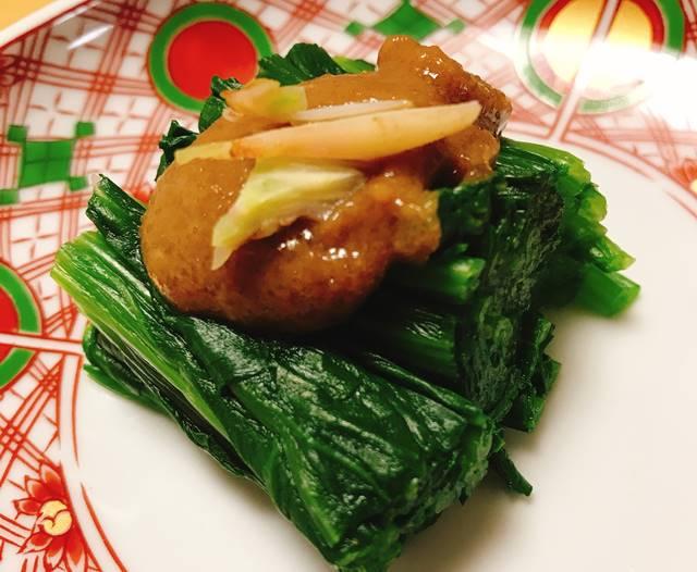 坂ノ途中お試しセット野菜セット宅配で届いたほうれん草で作ったごま酢和え